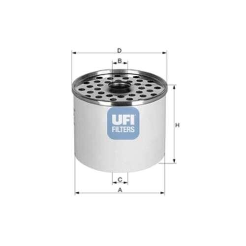 FITS PEUGEOT J7 1.9 D ORIGINE UFI Filtre à carburant