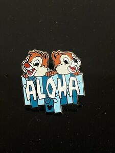 Disney-Pin-Collectors-Chip-And-Dale-Aloha-Hidden-Mickey-Pin