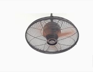 Allen + Roth Valdosta 20 inch Indoor/Outdoor Downrod Mount Ceiling Fan - Bronze