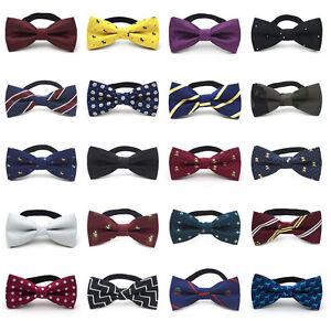 Fashion-Baby-Kids-Boy-Toddler-Wedding-Bow-Tie-Party-Bowtie-Pre-Tied-Necktie