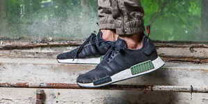 great look detailing many styles Details about ADIDAS NMD R1 BASE GREEN CORE WHITE BB1357 BRAND NEW IN BOX  SIZE 6.5
