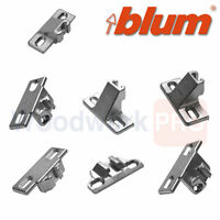 Blum Compact Mounting Plate For 33.3600 / 33.3630 Hinge Overlays: 1/4 To 1-5/8