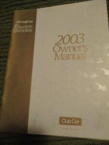 club car ds electric service manual