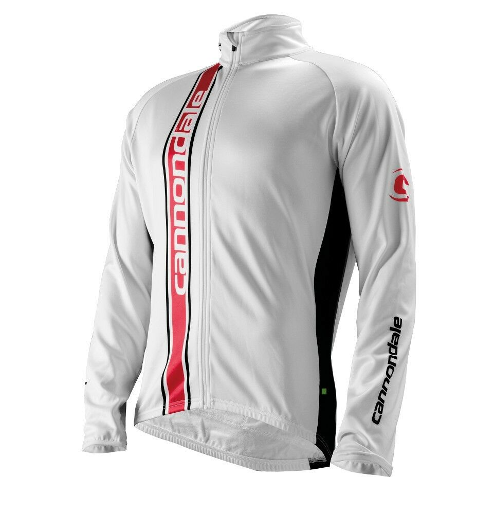 CANNONDALE Elite Winter CYCLING Long Sleeve Jersey  in White  support wholesale retail