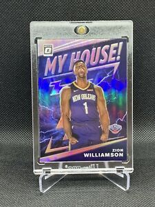 2019-Panini-Optic-Silver-Zion-Williamson-My-House-CENTERED-HOT