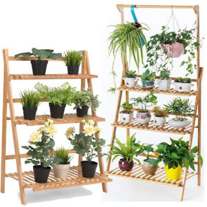 Image Is Loading 3 Tier Hanging Plant Stand Planter Shelves Flower