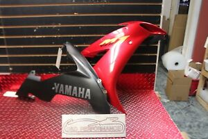 04-06-2004-2006-YAMAHA-YZF-R1-OEM-RIGHT-LOWER-amp-MID-FAIRING-PLASTIC-R166