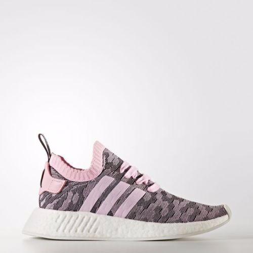 d6b5fcf1787f Adidas NMD R2 W PK Womens Wonder Pink Core Core Core Black White BY9521  Primeknit Size 9:Man s Woman s: List of tidal shoes 4543e9