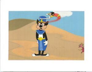 Mighty Mouse Cartoon Production Animation Cel Setup Filmation Anime 1987-8 B2013