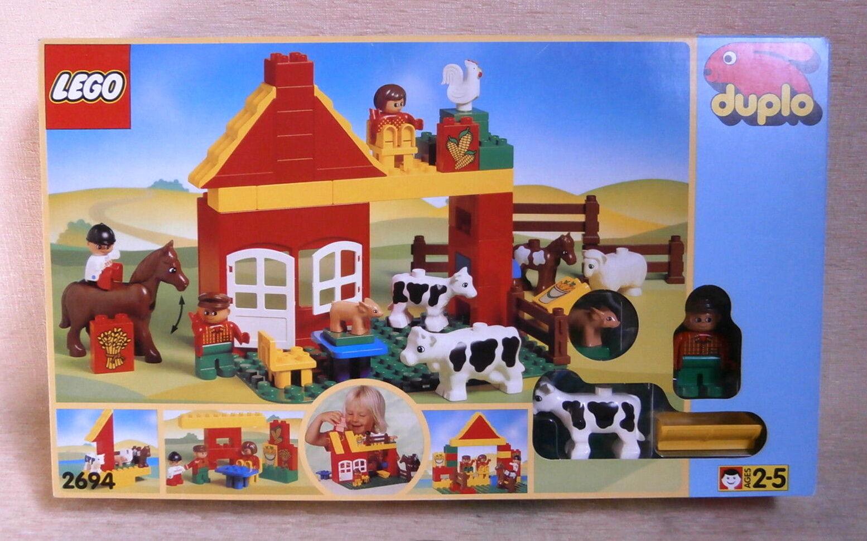 LEGO DUPLO   2694  Mini Fattoria  NUOVO IN SCATOLA SIGILLATA MADE IN SVIZZERA 1996 oggetto unico