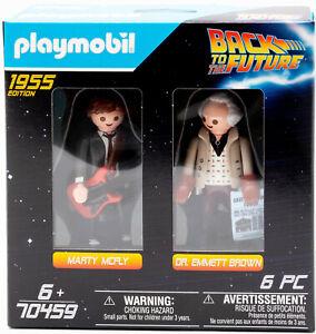 Playmobil-70459-Retour-En-La-vers-le-Futur-Marty-Mcfly-amp-Dr-Marron