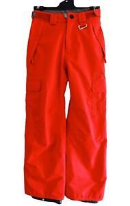 Rip-Curl-MONDO-SNOW-PANT-Kids-Junior-Snowboard-Ski-Mountain-Pant-New-S3KPGA-Red
