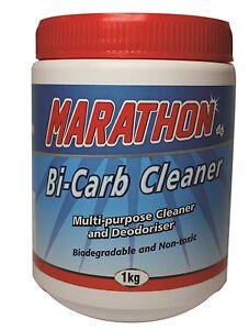 Marathon Bi-carb Cleaner 6 x 1KG jar Bicarb Multipurpose Cleaner deodoriser