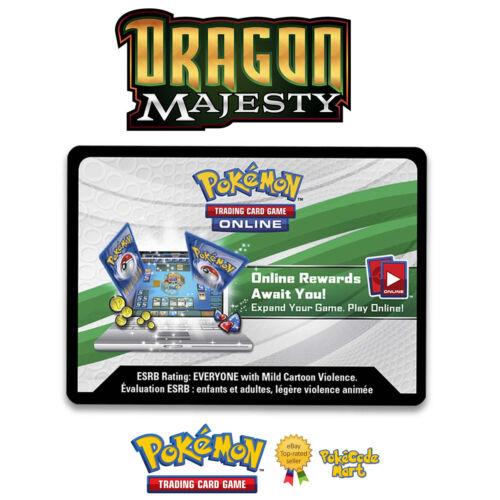 Latias /& Latios SM135 SM136 Online Codes for PTCGO Pokemon Dragon Majesty