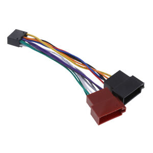 image is loading 16-pin-car-stereo-radio-wiring-harness-for-