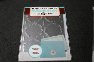 Martha-Stewart-Home-Office-Avery-Embossed-Mailing-Seals-Silver-36-Count-72455