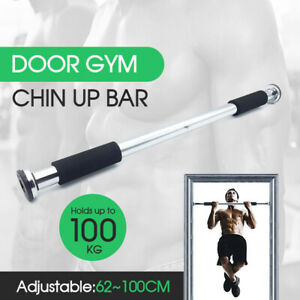Portable-Gym-Chin-Up-Bar-Home-Door-Pull-Up-Doorway-Exercise-Workout-AU-Stock