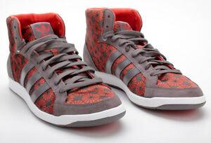 Adidas Schuhe Adi Hoop MID W G02372 Iron/DCHILI/White