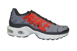 the latest b94b0 20536 Details about Juniors Nike Tuned 1 Air Max Plus TN (GS) - AV4151100 - White  Black Platinum