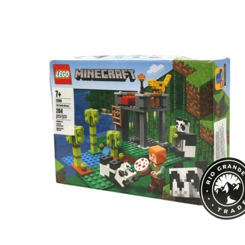 NEW LEGO 21158 Minecraft The Panda Nursery Construction Toy for Kids