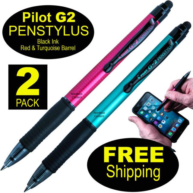 Black Pilot G2 Pen Stylus 2 Pack