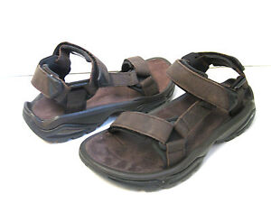 837cf267b33aa5 TEVA TERRA FI 4 MEN SANDALS LEATHER TURKISH COFFEE US 14  UK 13   EU ...