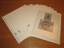 Lindner T falzlos formulario fogli DDR 1981 pagine n. 117-126 come nuovo! (668)