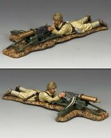King And Country Lying Prone Turkish Machine Gunner Al68 Al068