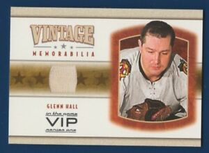 GLENN-HALL-03-04-IN-THE-GAME-VIP-03-04-VINTAGE-MEMORABILIA-JERSEY-RARE-16200