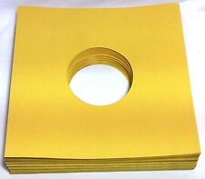 """(100) 78rpm 78 Record Sleeves Golden Brown Paper 28lb Stock 10"""" + FREE SHIPPING!"""