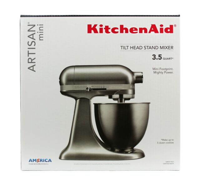 kitchenaid ksm3311xcu 35qt artisan mini stand mixer