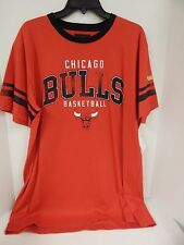 GIII NBA Big Man Chicago Bulls Red/Black Short Sleeve Tshirt Mens Sample 2XL