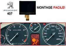 Afficheur LCD ECRAN centrale COMPTEUR ODB PEUGEOT 407, 407 SW 407 COUPÉ