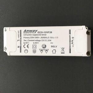 LED-Accionador-Transformador-ANWAY-eco-12vf20-Fuente-alimentacion-ersatztrafo