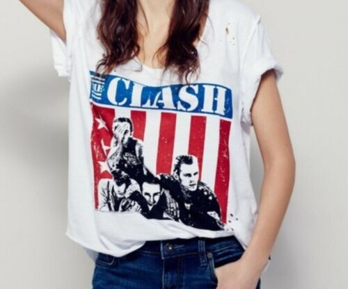 Free People X Trunk Itd The Clash T-Shirt Top SIz… - image 1