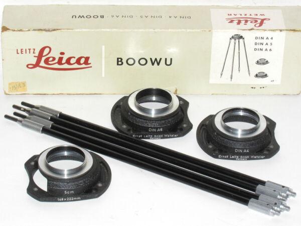 Constructif Leica Leitz M39 Boowu Copie Stand + Coffret Sensation Confortable