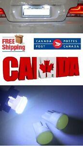 2pcs-COB-Ceramic-White-6000k-LED-T10-194-168-Map-Dome-License-Plate-Light-Bulb