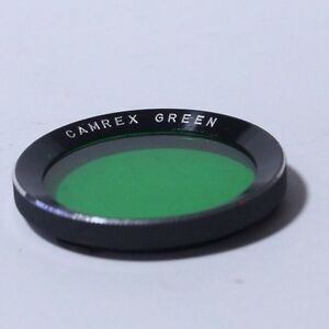 Lens-Filter-Bay-I-Camrex-Green-JAPAN-TLR-Rollei-Free-SHipping-Worldwide
