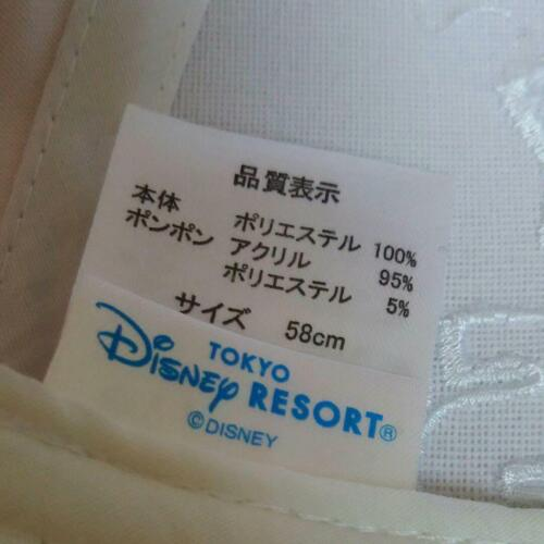Mickey Mouse PONPON Cap Tokyo Disney Resort 35th Pom Pon Hat Rainbow 2018 2019
