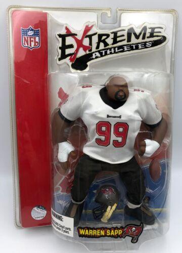 Warren Sapp NFL Tampa Bay Buccaneers Extreme Athletes Football Action Figure