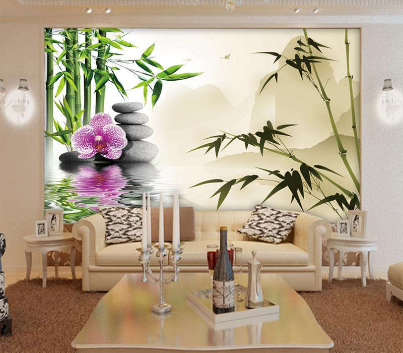 Lisurely Soft Bamboo 3D Full Wall Mural Photo Wallpaper Printing Home Kids Decor