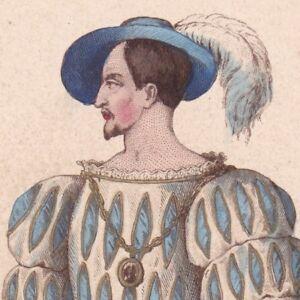 Guillaume-du-Bellay-de-Langey-Ordre-de-Saint-Michel-Francois-Ier