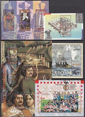 22454 HeißEr Verkauf 50-70% Rabatt Kroatien 1995/98 Block 11-15 **,