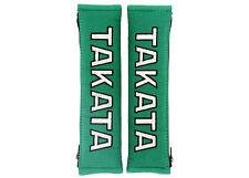 "Takata Racing 2"" (50mm) Harness Pad Pair - Green"
