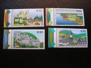 Germany-Rfa-Stamp-Yvert-Tellier-N-1639-A-1642-N-MNH-COL2
