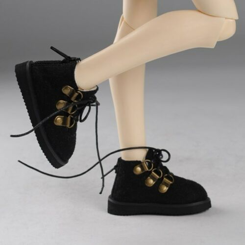 Dollmore 1//4 BJD MSD Messo Shoes Black