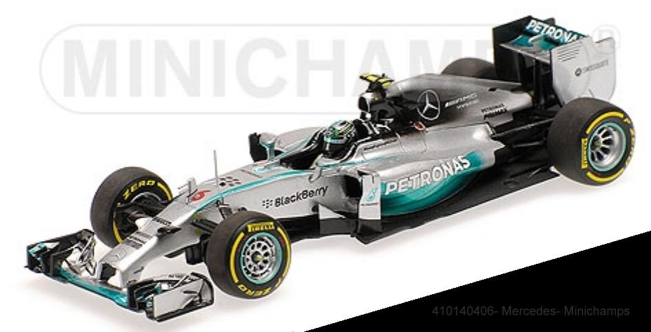 Minichamps 410140406 - - - Mercedes AMG Petronas F1 Team W05 – Nico Rosberg – 1 43 5cc85a