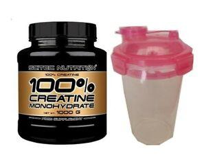 Scitec Nutrition 1000g 100% Creatina Monoidrato Polvere 1kg