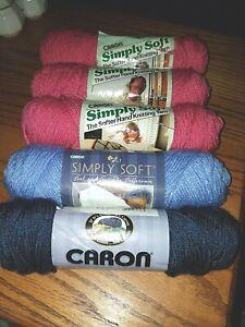 Caron-Simply-Soft-4-Medium-Acrylic-Yarn-5-3-oz-skeins