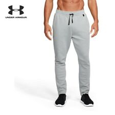 NWT Under Armour MENS Knit Joggers SWEATPANTS CUFFED artillery green 1320725 357